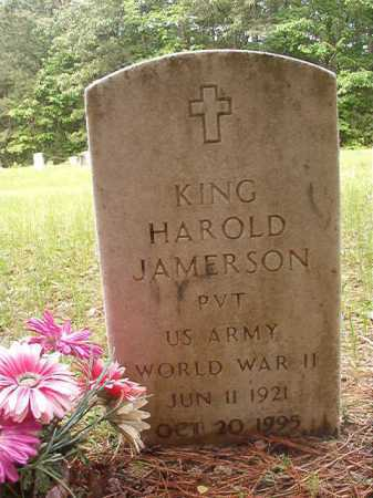 JAMERSON (VETERAN WWII), KING HAROLD - Columbia County, Arkansas | KING HAROLD JAMERSON (VETERAN WWII) - Arkansas Gravestone Photos