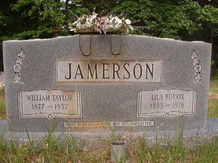 JAMERSON, WILLIAM TAYLOR - Columbia County, Arkansas | WILLIAM TAYLOR JAMERSON - Arkansas Gravestone Photos