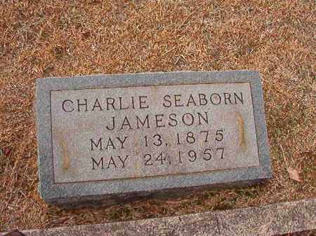 JAMESON, CHARLIE SEABORN - Columbia County, Arkansas | CHARLIE SEABORN JAMESON - Arkansas Gravestone Photos