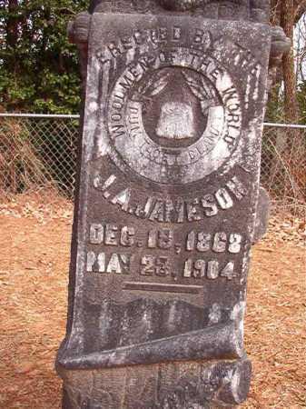 JAMESON, J A - Columbia County, Arkansas | J A JAMESON - Arkansas Gravestone Photos