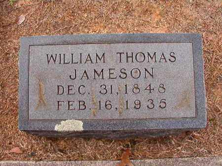 JAMESON, WILLIAM THOMAS - Columbia County, Arkansas | WILLIAM THOMAS JAMESON - Arkansas Gravestone Photos