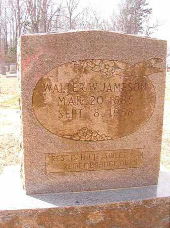 JAMESON, WALTER W - Columbia County, Arkansas | WALTER W JAMESON - Arkansas Gravestone Photos