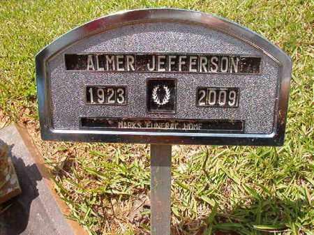 JEFFERSON, ALMER - Columbia County, Arkansas | ALMER JEFFERSON - Arkansas Gravestone Photos