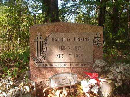 JENKINS, HALLIE Q - Columbia County, Arkansas | HALLIE Q JENKINS - Arkansas Gravestone Photos