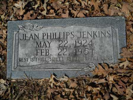 PHILLIPS JENKINS, JEAN - Columbia County, Arkansas | JEAN PHILLIPS JENKINS - Arkansas Gravestone Photos