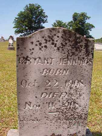 JENNINGS, BRYANT - Columbia County, Arkansas | BRYANT JENNINGS - Arkansas Gravestone Photos