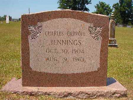 JENNINGS, CHARLES CARROLL - Columbia County, Arkansas | CHARLES CARROLL JENNINGS - Arkansas Gravestone Photos