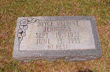 JENNINGS, JOYCE VELDINE - Columbia County, Arkansas | JOYCE VELDINE JENNINGS - Arkansas Gravestone Photos
