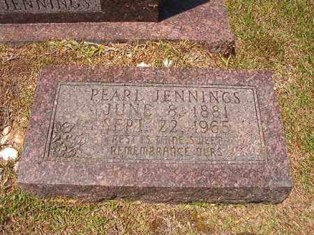 JENNINGS, PEARL - Columbia County, Arkansas | PEARL JENNINGS - Arkansas Gravestone Photos