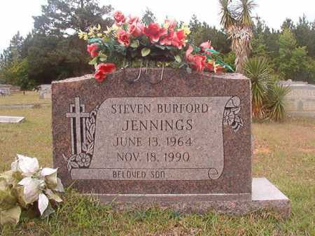 JENNINGS, STEVEN BURFORD - Columbia County, Arkansas | STEVEN BURFORD JENNINGS - Arkansas Gravestone Photos