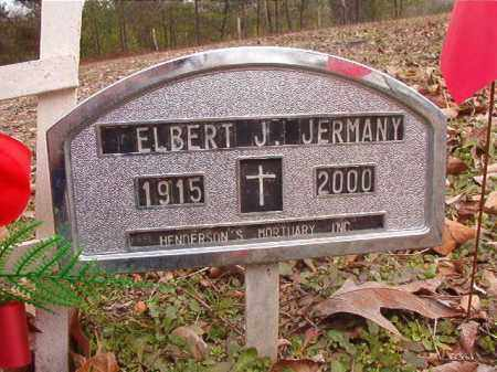 JERMANY, ELBERT J - Columbia County, Arkansas | ELBERT J JERMANY - Arkansas Gravestone Photos