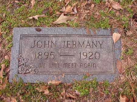 JERMANY, JOHN - Columbia County, Arkansas | JOHN JERMANY - Arkansas Gravestone Photos