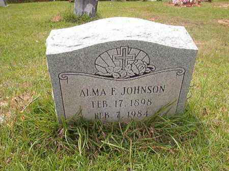 JOHNSON, ALMA F - Columbia County, Arkansas | ALMA F JOHNSON - Arkansas Gravestone Photos