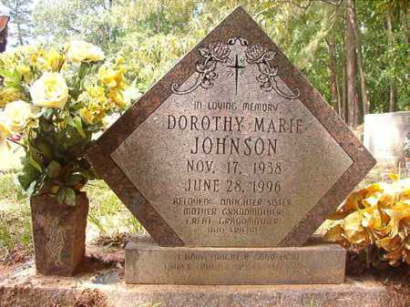 JOHNSON, DOROTHY MARIE - Columbia County, Arkansas | DOROTHY MARIE JOHNSON - Arkansas Gravestone Photos