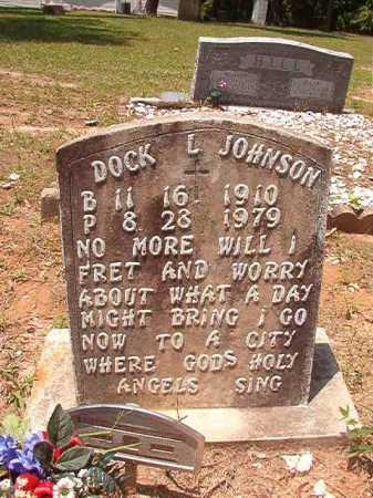 JOHNSON, DOCK L - Columbia County, Arkansas | DOCK L JOHNSON - Arkansas Gravestone Photos