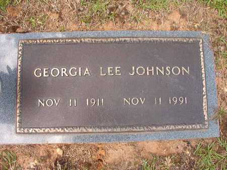 JOHNSON, GEORGIA LEE - Columbia County, Arkansas | GEORGIA LEE JOHNSON - Arkansas Gravestone Photos