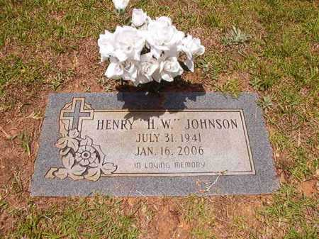"JOHNSON, HENRY ""H.W."" - Columbia County, Arkansas | HENRY ""H.W."" JOHNSON - Arkansas Gravestone Photos"