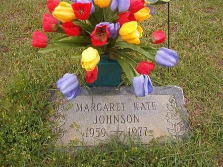 JOHNSON, MARGARET KATE - Columbia County, Arkansas | MARGARET KATE JOHNSON - Arkansas Gravestone Photos