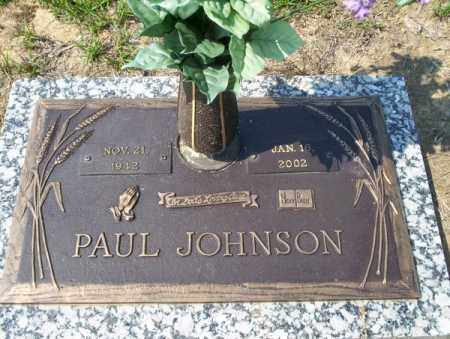 JOHNSON, PAUL - Columbia County, Arkansas | PAUL JOHNSON - Arkansas Gravestone Photos
