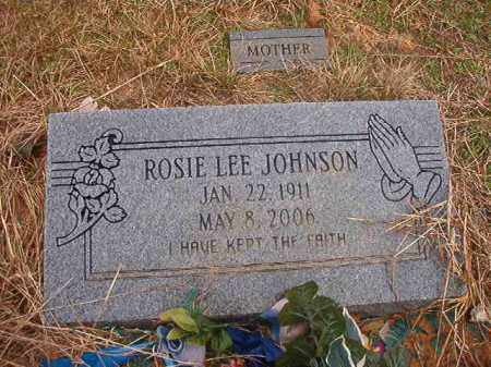 JOHNSON, ROSIE LEE - Columbia County, Arkansas | ROSIE LEE JOHNSON - Arkansas Gravestone Photos