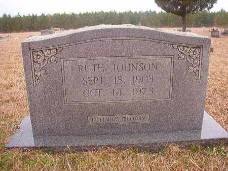 JOHNSON, RUTH - Columbia County, Arkansas | RUTH JOHNSON - Arkansas Gravestone Photos