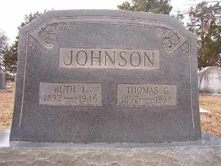 JOHNSON, THOMAS G - Columbia County, Arkansas | THOMAS G JOHNSON - Arkansas Gravestone Photos