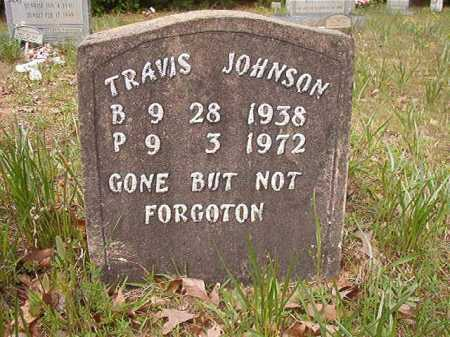 JOHNSON, TRAVIS - Columbia County, Arkansas | TRAVIS JOHNSON - Arkansas Gravestone Photos