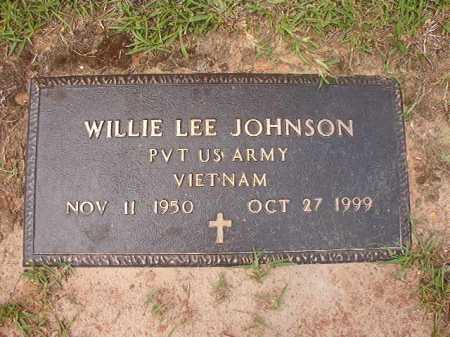 JOHNSON (VETERAN VIET), WILLIE LEE - Columbia County, Arkansas | WILLIE LEE JOHNSON (VETERAN VIET) - Arkansas Gravestone Photos
