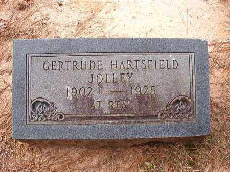 HARTSFIELD JOLLEY, GERTRUDE - Columbia County, Arkansas | GERTRUDE HARTSFIELD JOLLEY - Arkansas Gravestone Photos