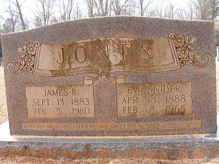 SNIDER JONES, EVA - Columbia County, Arkansas | EVA SNIDER JONES - Arkansas Gravestone Photos