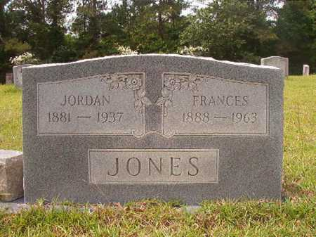 JONES, FRANCES - Columbia County, Arkansas | FRANCES JONES - Arkansas Gravestone Photos