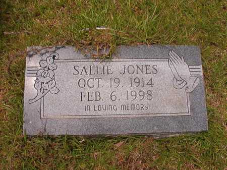 JONES, SALLIE - Columbia County, Arkansas | SALLIE JONES - Arkansas Gravestone Photos