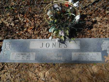 JONES, THOMAS J - Columbia County, Arkansas | THOMAS J JONES - Arkansas Gravestone Photos