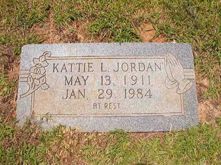 JORDAN, KATTIE L - Columbia County, Arkansas | KATTIE L JORDAN - Arkansas Gravestone Photos