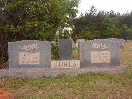 JURLS, RUBY C - Columbia County, Arkansas | RUBY C JURLS - Arkansas Gravestone Photos