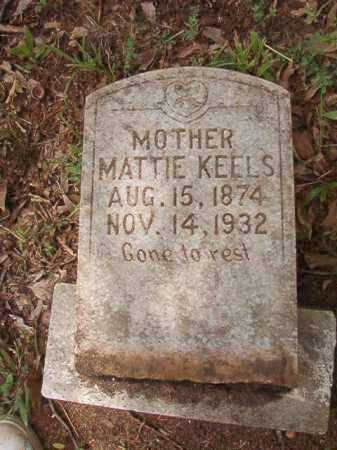 KEELS, MATTIE - Columbia County, Arkansas | MATTIE KEELS - Arkansas Gravestone Photos