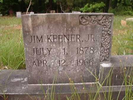 KEENER, JR, JIM - Columbia County, Arkansas | JIM KEENER, JR - Arkansas Gravestone Photos