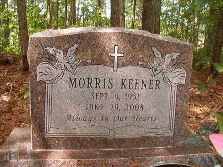 KEENER, MORRIS - Columbia County, Arkansas | MORRIS KEENER - Arkansas Gravestone Photos