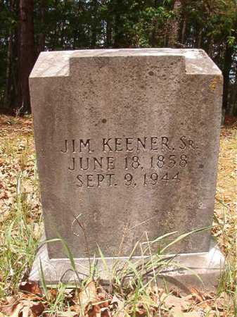 KEENER, SR, JIM - Columbia County, Arkansas | JIM KEENER, SR - Arkansas Gravestone Photos