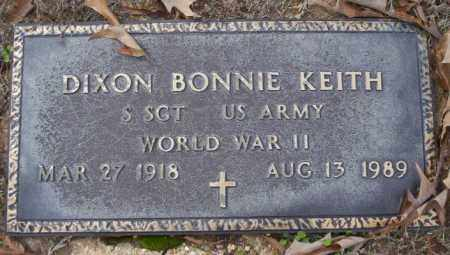 KEITH (VETERAN WWII), DIXON BONNIE - Columbia County, Arkansas | DIXON BONNIE KEITH (VETERAN WWII) - Arkansas Gravestone Photos