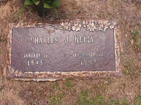 KELLY, CHARLES J - Columbia County, Arkansas | CHARLES J KELLY - Arkansas Gravestone Photos