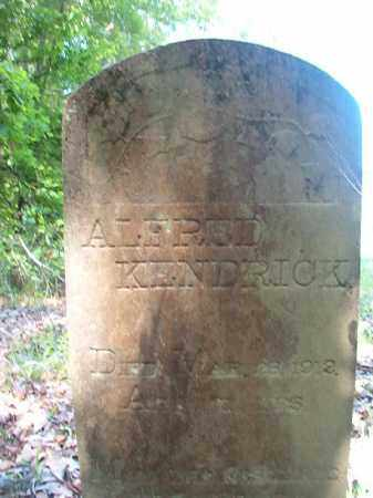 KENDRICK, ALFRED - Columbia County, Arkansas | ALFRED KENDRICK - Arkansas Gravestone Photos