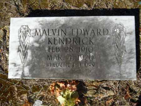 KENDRICK, MALVIN EDWARD - Columbia County, Arkansas | MALVIN EDWARD KENDRICK - Arkansas Gravestone Photos
