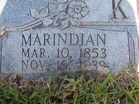 KENDRICK, MARINDIAN - Columbia County, Arkansas | MARINDIAN KENDRICK - Arkansas Gravestone Photos