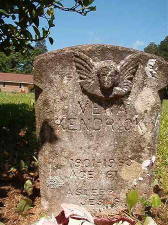 KENDRICK, VERA - Columbia County, Arkansas   VERA KENDRICK - Arkansas Gravestone Photos