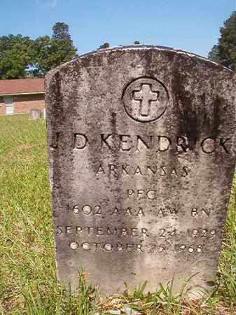 KENDRICK (VETERAN), J D - Columbia County, Arkansas   J D KENDRICK (VETERAN) - Arkansas Gravestone Photos