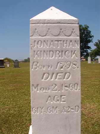 KINDRICK, JONATHAN - Columbia County, Arkansas | JONATHAN KINDRICK - Arkansas Gravestone Photos