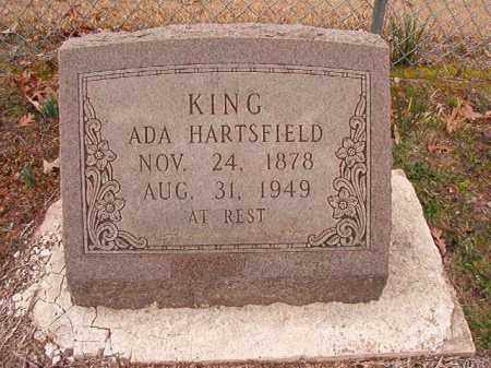 HARTSFIELD KING, ADA - Columbia County, Arkansas | ADA HARTSFIELD KING - Arkansas Gravestone Photos