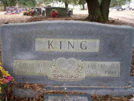 KING, JEFF D - Columbia County, Arkansas | JEFF D KING - Arkansas Gravestone Photos