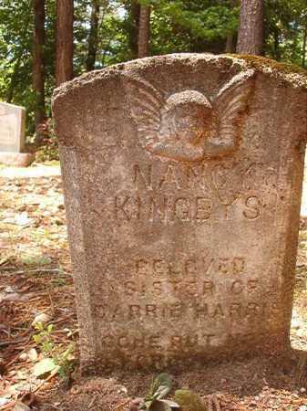 KINGBYS, NANCY - Columbia County, Arkansas   NANCY KINGBYS - Arkansas Gravestone Photos